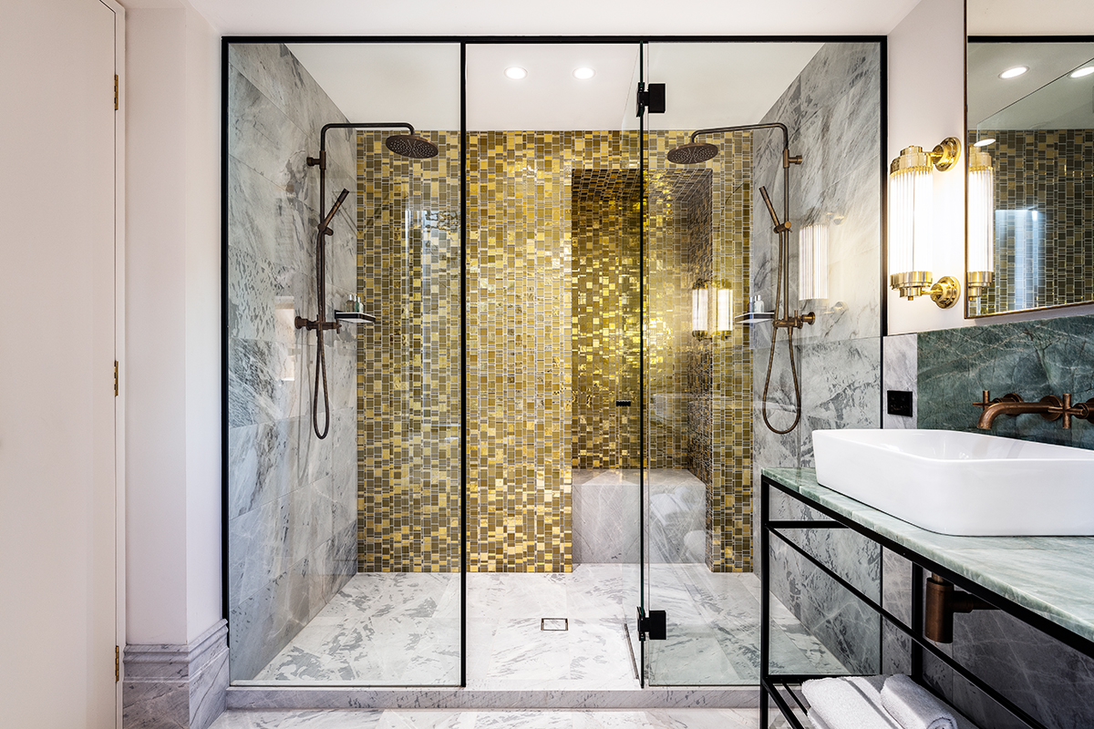 framed shower screens in Sydney